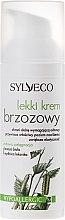 Crema leggera per viso, con betulla - Sylveco — foto N2