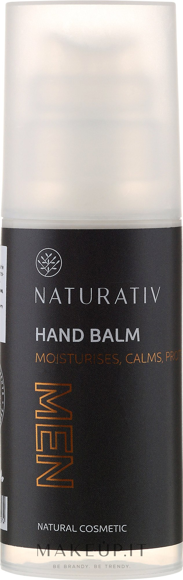 Balsamo mani per uomo - Naturativ Men Hand Balm — foto 100 ml