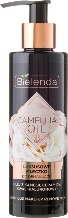 Latte struccante - Bielenda Camellia Oil Luxurious Make-up Removing Milk