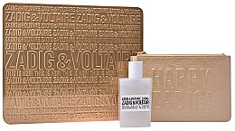 Profumi e cosmetici Zadig & Voltaire This Is Her - Set (edp/50ml + golden pouch)