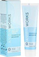 Profumi e cosmetici Crema depilatoria - Avon Works Body Hair Removal Cream