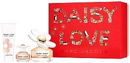 Profumi e cosmetici Marc Jacobs Daisy Love - Set (edt/100ml + edt/4ml + b/lot/75ml)
