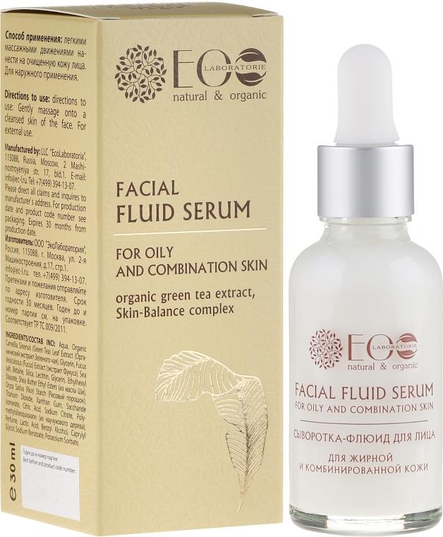 Siero viso - Eco Laboratorie Facial Fluid Serum
