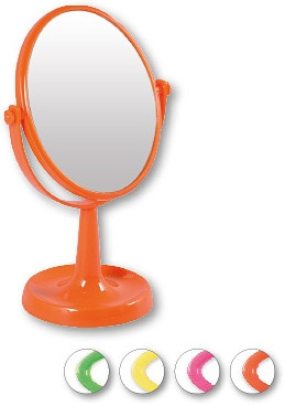 "Specchietto cosmetico, 85741 ""Lusterko Stoj№ce Owalne"",orange - Top Choice"