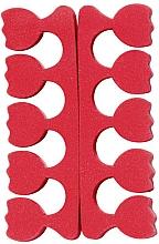 Profumi e cosmetici Separatore dita, a tulipano, rossi - Peggy Sage