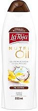 Profumi e cosmetici Gel doccia con oli - La Toja Hidrotermal Nutri Oil Shower Gel