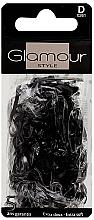 Profumi e cosmetici Elastici per capelli, 0261, neri - Glamour