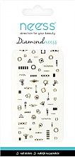 Profumi e cosmetici Adesivi per nail design, 3709 - Neess Diamondneess