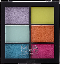 Profumi e cosmetici Palette ombretti - MUA Makeup Academy Professional 6 Shade Palette