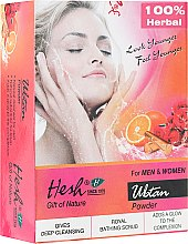 Profumi e cosmetici Detergente in polvere - Hesh Ubtan Powder