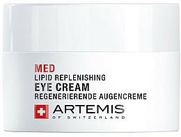 Profumi e cosmetici Crema rivitalizzante per palpebre - Artemis of Switzerland Med Lipid Replenishing Eye Cream