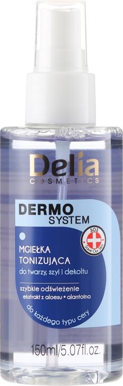 Spray tonificante per viso, collo e décolleté - Delia Dermo System