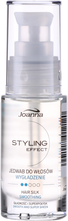 Seta per capelli - Joanna Styling Effect Hair Silk