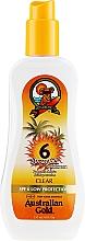 Profumi e cosmetici Spray-gel solare - Australian Gold Body Spray Gel SPF6