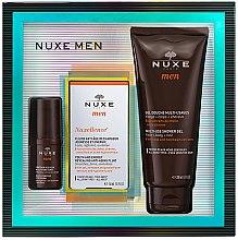 Profumi e cosmetici Set - Nuxe Men Nuxellence (eye/cr/15ml + f/fluid/50ml + sh/gel/200ml)