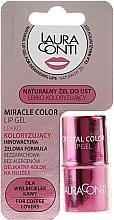 Profumi e cosmetici Gel labbra idratante rosa - Laura Conti Miracle Color Lip Gel