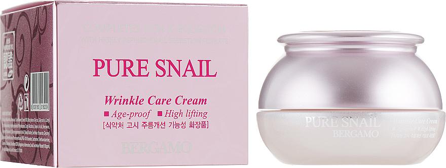 Crema viso rivitalizzante antietà - Bergamo Pure Snail Wrinkle Care Cream — foto N1