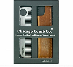 Profumi e cosmetici Set - Chicago Comb Co CHICA-1-SET (comb/1pcs + case/1pcs) (1pz)