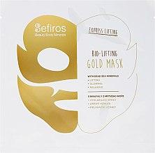 Profumi e cosmetici Maschera viso, con minerali del Mar Morto - Sefiros Bio-Lifting Gold Mask