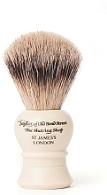 Profumi e cosmetici Pennello da barba, S2233 - Taylor of Old Bond Street Shaving Brush Super Badger size S
