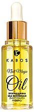 Profumi e cosmetici Olio unghie rigenerante - Kabos Nail Magic Oil