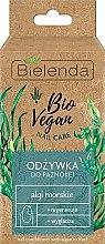 """Profumi e cosmetici Lozione per unghie """"Alga marina"""" - Bielenda Bio Vegan Nail Care Sea Algae"""
