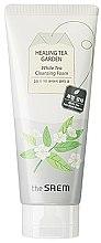 Profumi e cosmetici Schiuma viso detergente - The Saem Healing Tea Garden White Tea Cleansing Foam