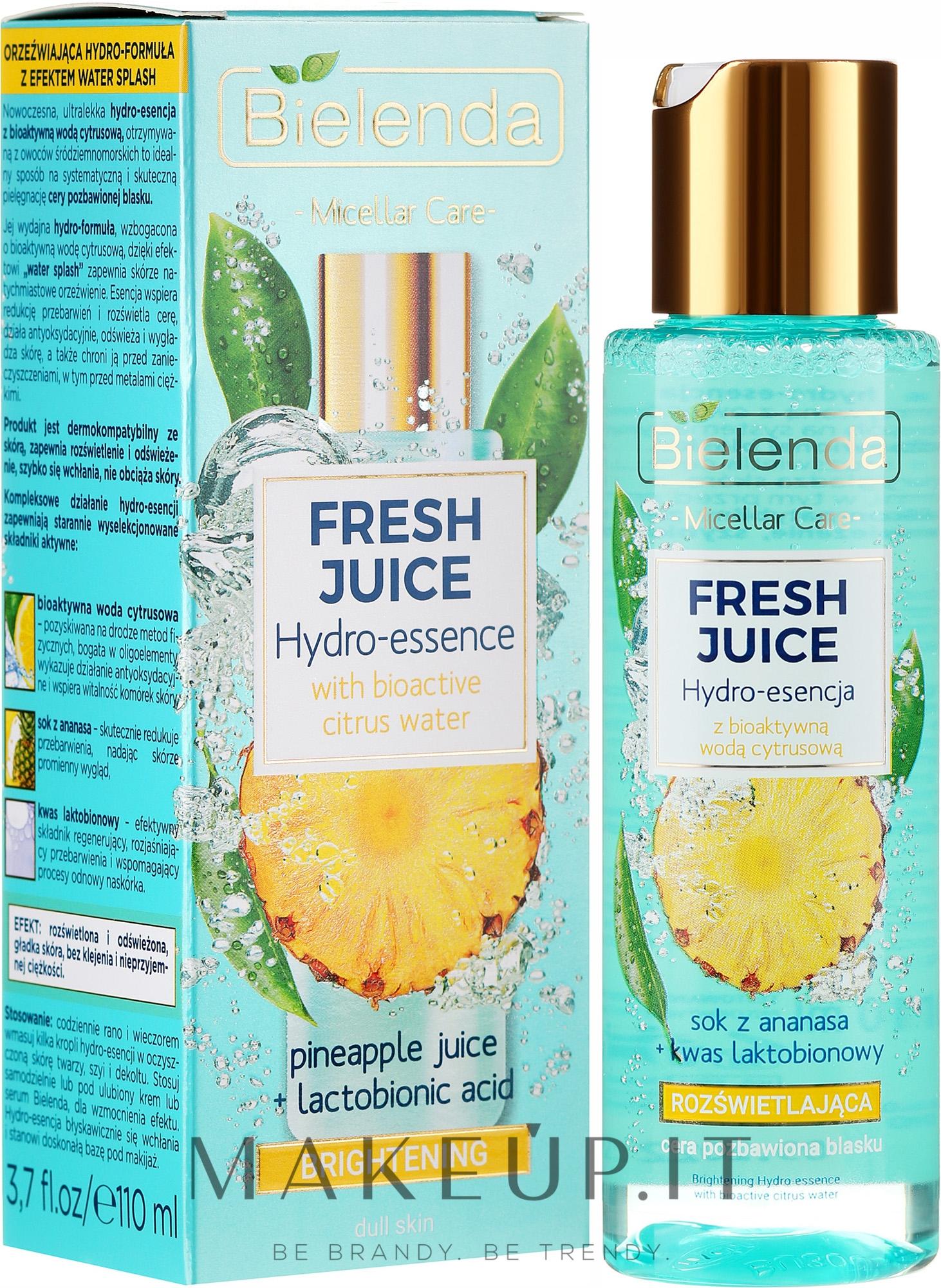 Idro-essenza illuminante - Bielenda Fresh Juice Brightening Hydro Essence Pineapple — foto 110 ml