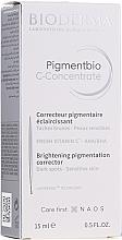 Profumi e cosmetici Siero viso - Bioderma Pigmentbio C Concentrate Brightening Pigmentation Corrector