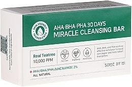 Profumi e cosmetici Sapone viso - Some By Mi AHA/BHA/PHA 30 Days Miracle Cleansing Bar