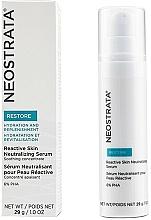 Profumi e cosmetici Siero neutralizzante per pelli sensibili - Neostrata Restore Reactive Skin Neutralizing Serum 6% PHA