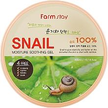 Profumi e cosmetici Gel alla bava di lumaca - FarmStay Moisture Soothing Gel Snail