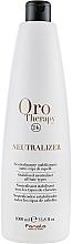 Profumi e cosmetici Neutralizzatore e stabilizzatore per tutti i tipi di capelli - Fanola Oro Therapy Neutralizer