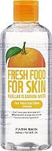 Profumi e cosmetici Acqua micellare per pelli normali - Superfood For Skin Micellar Cleansing Water Orange