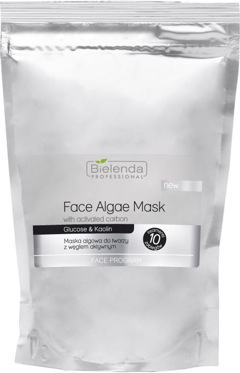 Maschera viso alle alghe, con carbone attivo - Bielenda Professional Algae Face Mask With Activated Carbon — foto N1