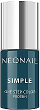 Profumi e cosmetici Smalto in gel - NeoNail Simple One Step Color Protein
