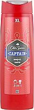 Profumi e cosmetici Gel doccia - Old Spice Captain Shower Gel