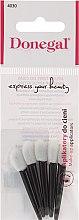 Profumi e cosmetici Applicatore per ombretti, 5 pezzi, bianco-nero - Donegal Eyeshadow Applicator