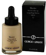 Profumi e cosmetici Fondotinta crema - Giorgio Armani Maestro Fusion Make Up Maquillage Fusion SPF 15