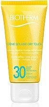 Profumi e cosmetici Crema protezione solare viso - Biotherm Sun Protection Creme Solaire Dry Touch SPF 30