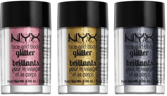Glitter viso e corpo - NYX Professional Makeup Face & Body Glitter