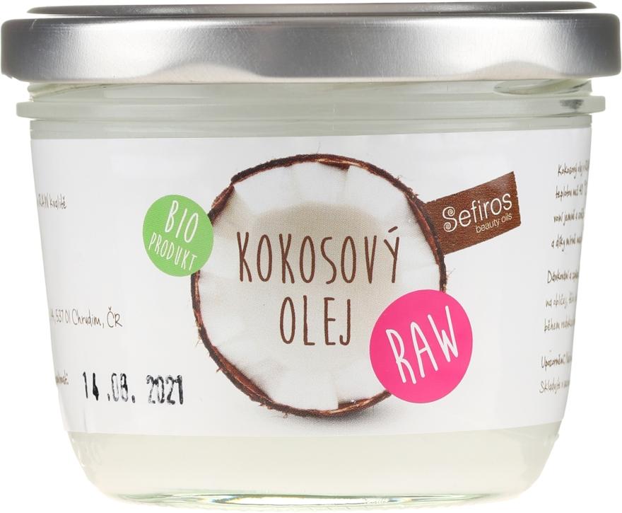 Olio di cocco naturale - Sefiros Organic Raw Coconut Oil