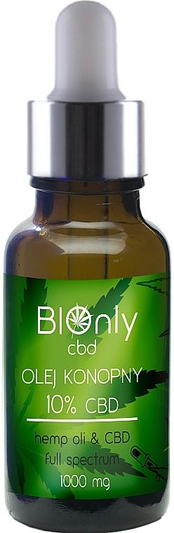 Olio di canapa CBD 10% - BIOnly — foto N1