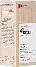 Profumi e cosmetici Lozione viso - Phenome Sustainable Science Anti-Wrinkle Face Lotion