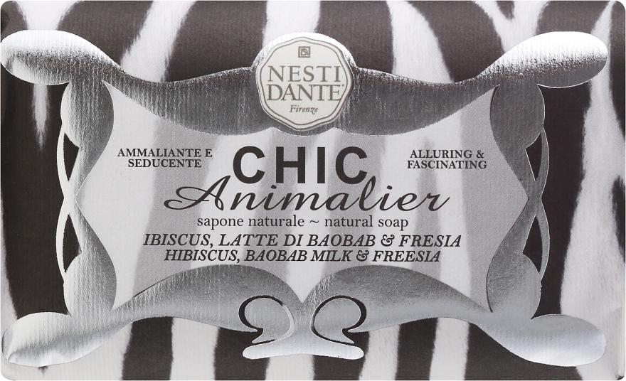 Sapone ammaliante e seducente - Nesti Dante Chic Animalier Soap — foto N1