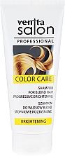 Profumi e cosmetici Shampoo per capelli biondi, schiarimento graduale - Venita Salon Professional Brightening Shampoo
