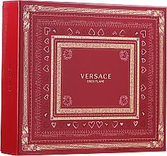 Profumi e cosmetici Versace Eros Flame - Set (edp 100 ml + sh/gel 150 ml + edp/10ml)