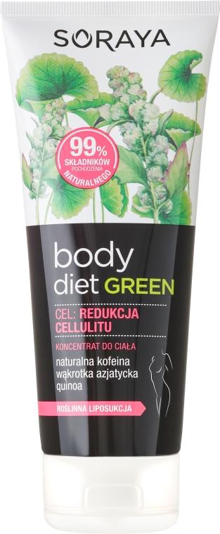 """Concentrato corpo """"Ridurre la cellulite"""" - Soraya Body Diet Green"""