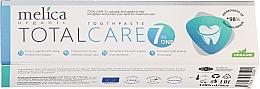 Profumi e cosmetici Dentifricio - Melica Organic Toothpaste Total Care 7