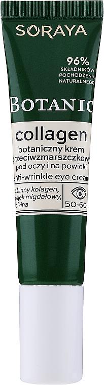 Crema contorno occhi antirughe - Soraya Botanic Collagen Anti-Wrinkle Eye Cream — foto N2